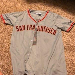 Youth large San Francisco Giants jersey baseball